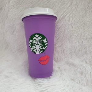Starbucks 2021 Valentines Day Color Changing Cup